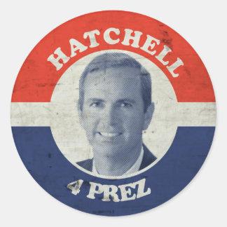 Doc Hatch 5 Lyfe Round Sticker