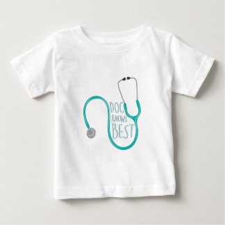 Doc Knows Best Baby T-Shirt