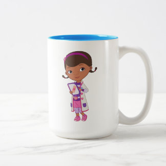 Doc McStuffins | All Part of my Job Two-Tone Coffee Mug