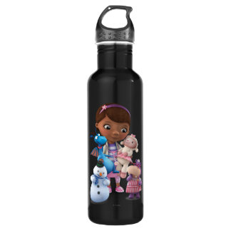Doc McStuffins and Her Animal Friends 710 Ml Water Bottle