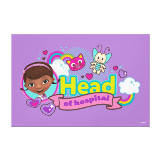 Doc McStuffins | Head of Hospital Canvas Print