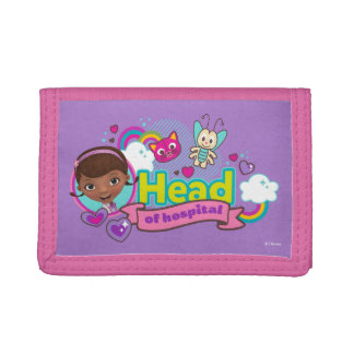 Doc McStuffins | Head of Hospital Trifold Wallets