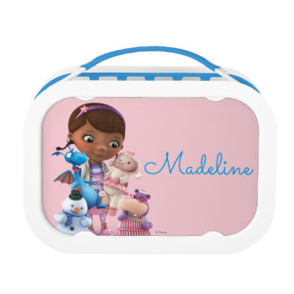 Doc McStuffins & Her Animal Friends - Personalized Lunchboxes