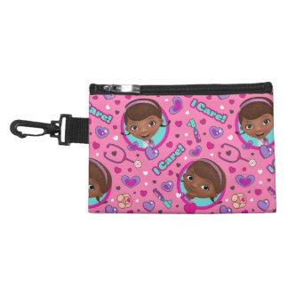 Doc McStuffins | I Care Pink Pattern Accessory Bag