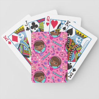 Doc McStuffins | I Care Pink Pattern Bicycle Playing Cards