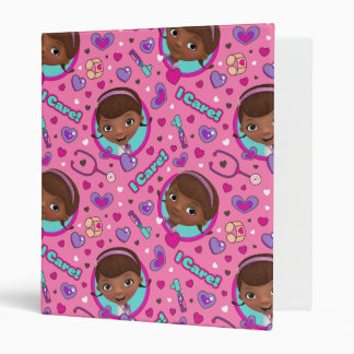 Doc McStuffins | I Care Pink Pattern Binder