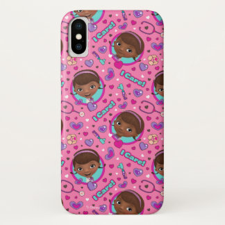 Doc McStuffins | I Care Pink Pattern Case-Mate iPhone Case