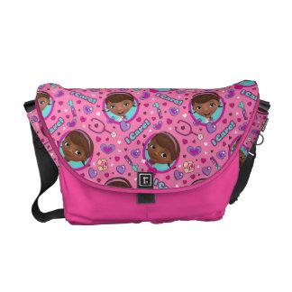 Doc McStuffins | I Care Pink Pattern Courier Bag