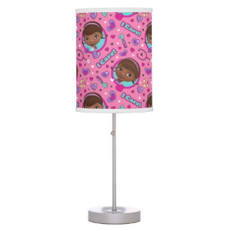 Doc McStuffins | I Care Pink Pattern Desk Lamps