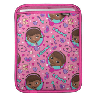 Doc McStuffins | I Care Pink Pattern iPad Sleeve