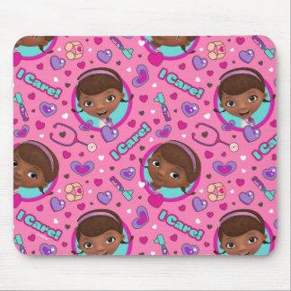 Doc McStuffins | I Care Pink Pattern Mouse Pad