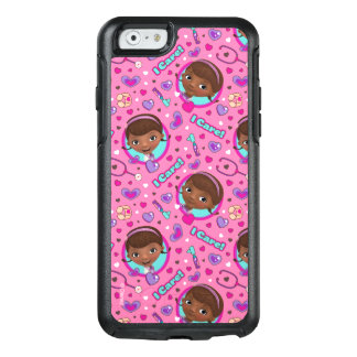 Doc McStuffins | I Care Pink Pattern OtterBox iPhone 6/6s Case
