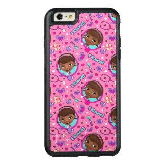 Doc McStuffins | I Care Pink Pattern OtterBox iPhone 6/6s Plus Case