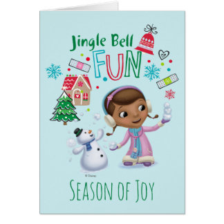 Doc McStuffins | Jingle Bell Fun Card