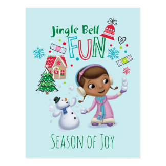 Doc McStuffins | Jingle Bell Fun Postcard