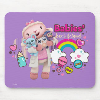 Doc McStuffins | Lambie - Babies Best Friend Mouse Pad