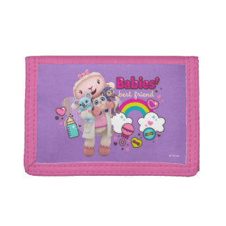 Doc McStuffins | Lambie - Babies Best Friend Tri-fold Wallets
