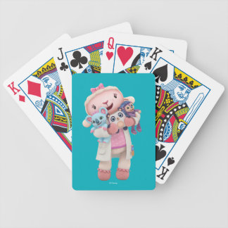 Doc McStuffins | Lambie - Hugs Given Here Bicycle Playing Cards