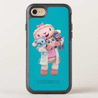 Doc McStuffins   Lambie - Hugs Given Here OtterBox Symmetry iPhone 8/7 Case