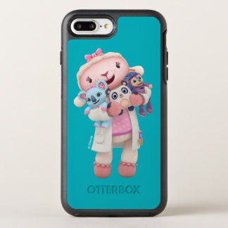 Doc McStuffins | Lambie - Hugs Given Here OtterBox Symmetry iPhone 8 Plus/7 Plus Case
