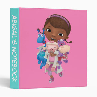 Doc McStuffins | Sharing the Care 3 Ring Binders