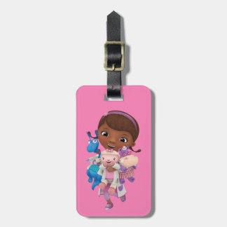 Doc McStuffins   Sharing the Care Luggage Tag