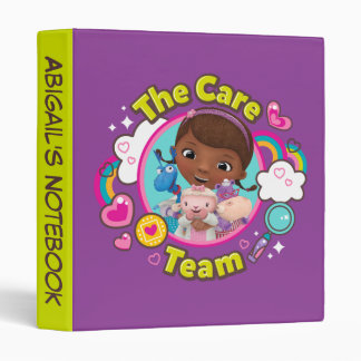 Doc McStuffins | The Care Team 3 Ring Binder