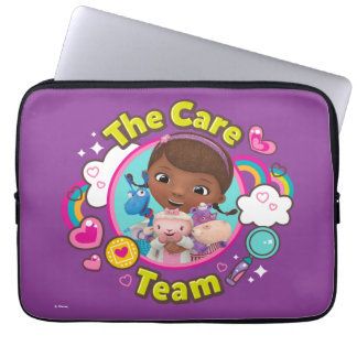 Doc McStuffins   The Care Team Laptop Sleeve