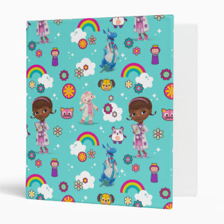 Doc McStuffins | The Care Team Pattern 3 Ring Binders