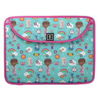 Doc McStuffins   The Care Team Pattern Sleeve For MacBook Pro
