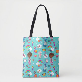 Doc McStuffins | The Care Team Pattern Tote Bag