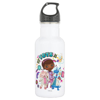 Doc McStuffins | We've Got Toys to Fix 532 Ml Water Bottle