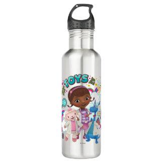 Doc McStuffins | We've Got Toys to Fix 710 Ml Water Bottle