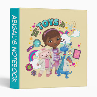 Doc McStuffins | We've Got Toys to Fix Binders