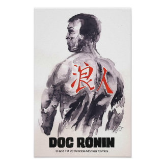 Doc Ronin 11 X 17 Poster