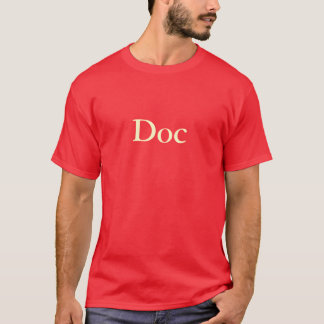 """""""Doc"""" T-Shirt (Red)"""