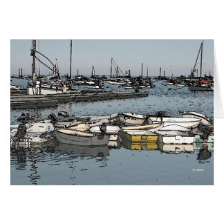 Dock boats--thank you card
