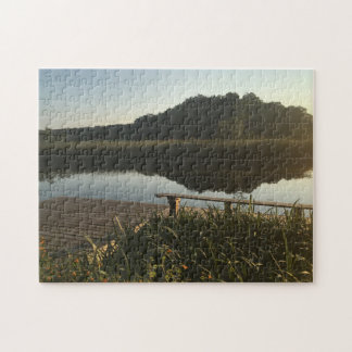 Dock by the Water Jigsaw Puzzle