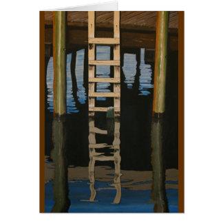 Dock Ladder Greeting Card