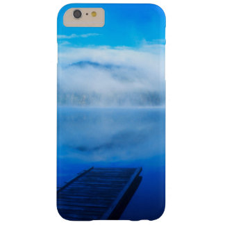 Dock on calm misty lake, California Barely There iPhone 6 Plus Case