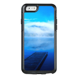 Dock on calm misty lake, California OtterBox iPhone 6/6s Case