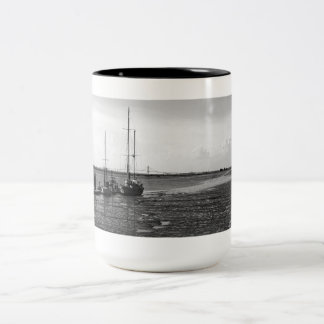 Docked at Jekyll Two-Tone Coffee Mug