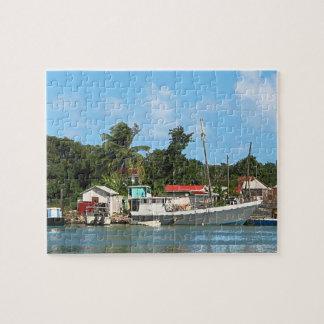 Docked Boats at Antigua Puzzle