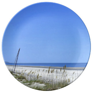 Docked on Sapelo Porcelain Plates