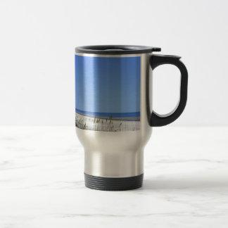 Docked on Sapelo Travel Mug