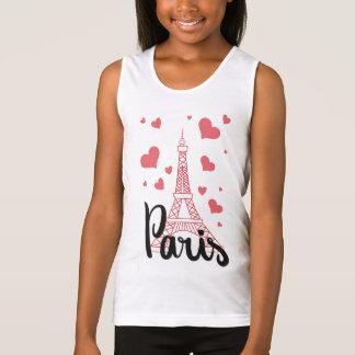 Docker BASIC Paris Girl Tank Top
