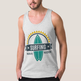Docker Jersey Man Fine Topic Surfing Tank Top