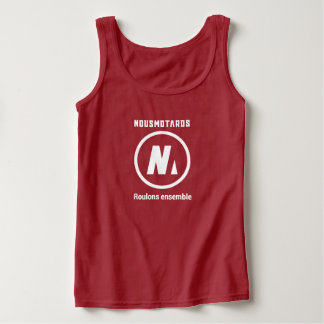 Docker Red Nousmotards Woman Tank Top