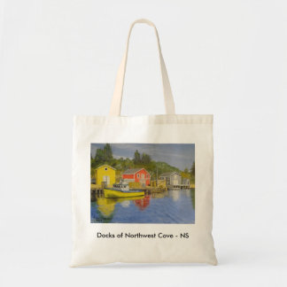 Docks of Northwest Cove - NS Tote Bag