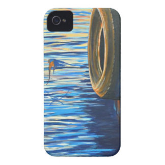 Dockside Swallows iPhone 4 Case
